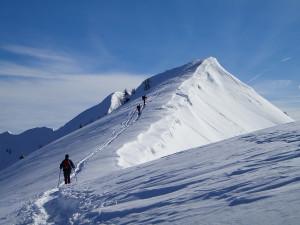 Creste del monte Coppolo innevati - foto Guido Menegazzo