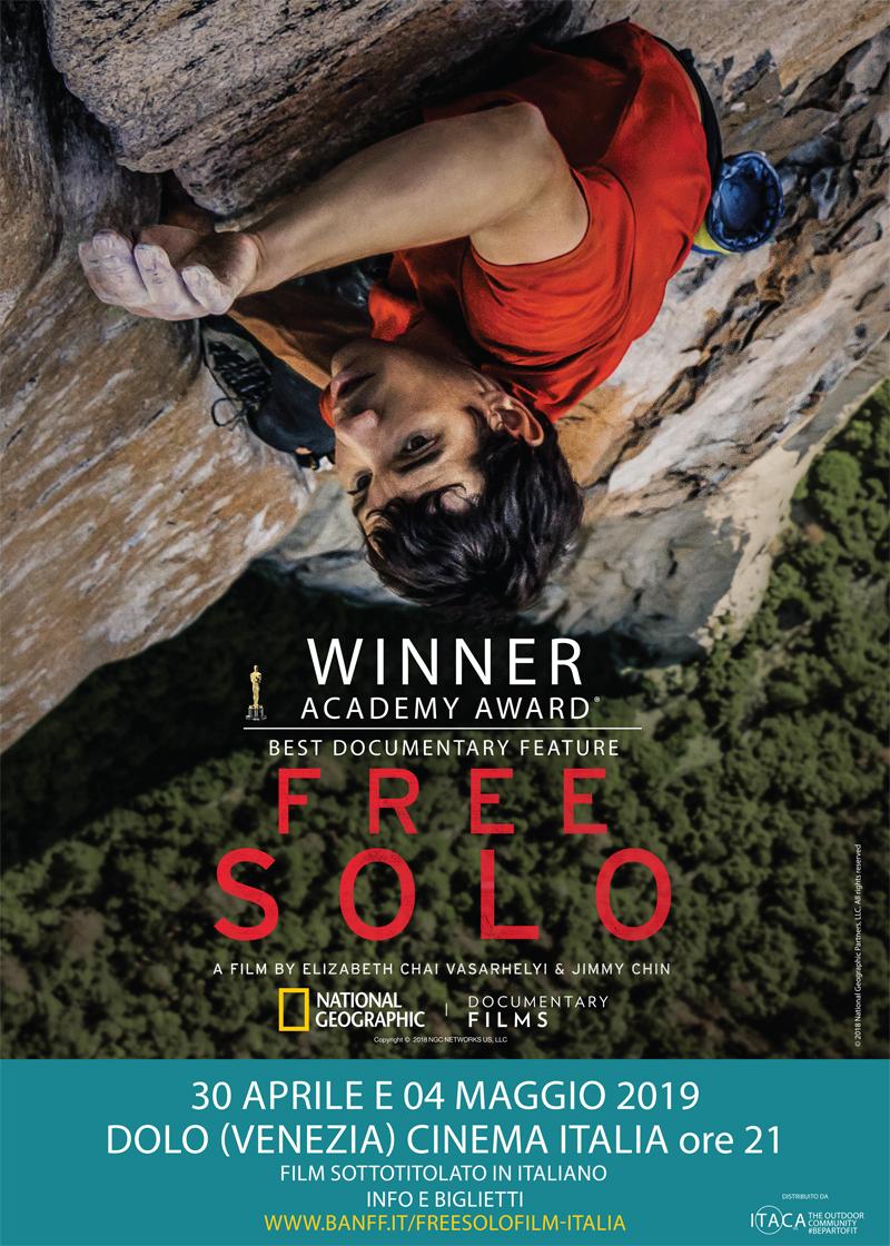 Film 'Free Solo' proiezione presso il Cinema Italia @ Dolo - Cinema Italia
