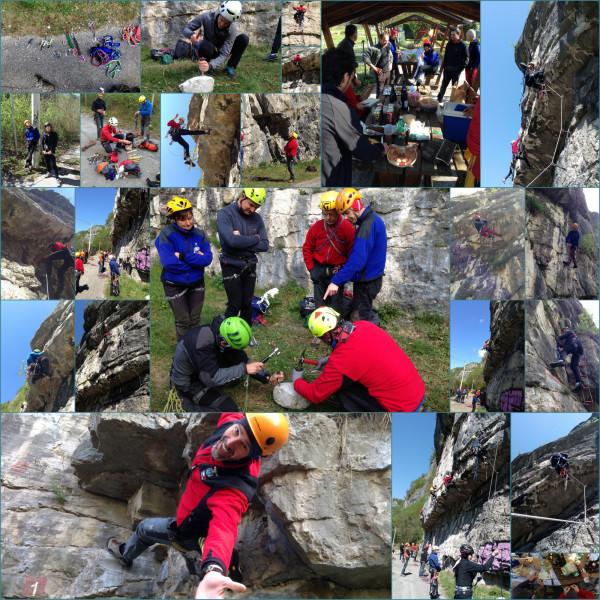 Aggiornamento arrampicata artificiale organico scuola a Cismon del Grappa a Covolo del Butistone.
