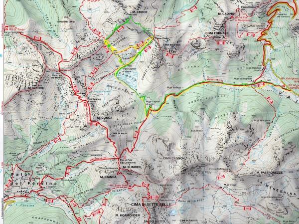 Cartina Monte Croce032