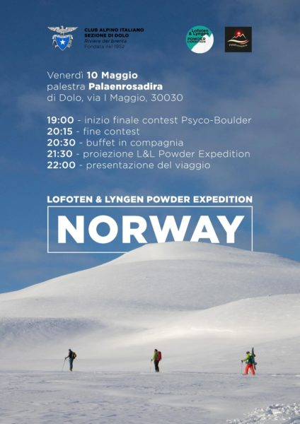 Norway - Lofoten & Lyngen powder expedition- 10/05/2019 - Enrico Zampieri @ Palestra Palaenrosadira