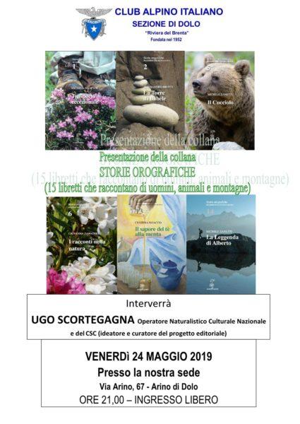 Storie orografiche - Relatore Ugo Scortegagna @ Sede CAI sezione di Dolo